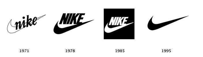 Nike logo geschiedenis