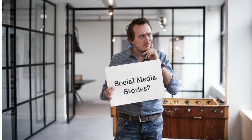 Het verhaal achter de Stories in Social Media